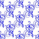 Abstract  blue  seamless pattern Stock Images