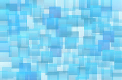 Abstract blue shades squares Royalty Free Stock Photo