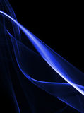 Abstract blue shape Royalty Free Stock Photo
