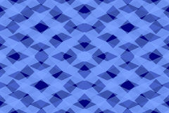 Abstract blue shapes pattern Royalty Free Stock Photography