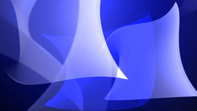 Abstract Blue shapes swirl and light. Background. 3d illustration Stock Images