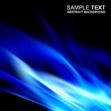 Abstract blue shine template Royalty Free Stock Photography