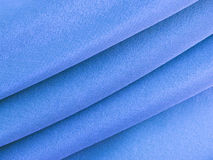 Abstract blue silk cloth Stock Photo