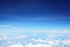 Abstract blue sky background Stock Images