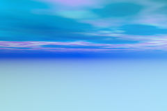 Abstract blue sky with clouds Stock Images