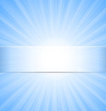 Abstract Blue Sky Sunbeam Background Stock Images