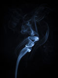 An Abstract Blue Smoke Flowing Vertical Background Royalty Free Stock Photo