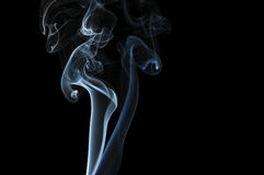 Abstract Blue Smoke Royalty Free Stock Photo