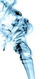 Abstract blue smoke Royalty Free Stock Photos