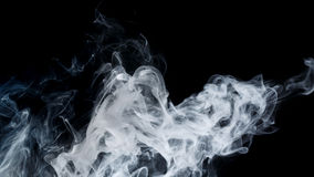 Abstract blue smoke Weipa Royalty Free Stock Photos