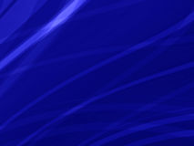 Abstract  Blue smooth twist light lines background Stock Photography