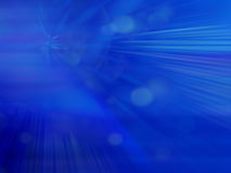 Abstract Blue smooth twist light lines background Stock Photo