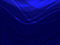 Abstract  Blue smooth twist light lines background Royalty Free Stock Image