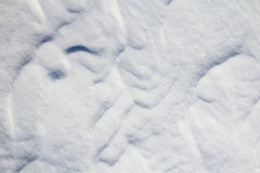 Snow abstraction Royalty Free Stock Photography