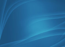 Abstract blue soft background. Abstract blue background with soft ligth waves Stock Images