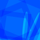 Abstract blue soft light background vector Stock Photography