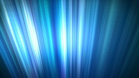 Abstract Blue Spectrum Light Ray Loop