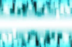 Abstract blue square background. Abstract blue square concept background stock illustration