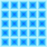 Abstract Blue Square Pattern, vector Royalty Free Stock Image