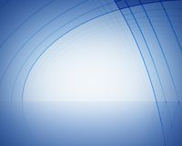 Abstract blue stage royalty free illustration