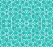 Abstract blue star pattern Stock Photo