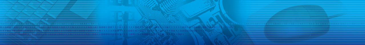 Abstract Blue Strip Technology. Panoramic Royalty Free Stock Image
