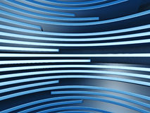 Abstract Blue Stripe Pattern Background. 3d Render Illustration Stock Photography