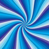 Abstract blue stripe swirl background Stock Image