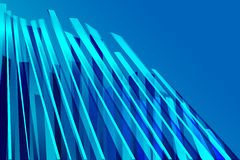 Abstract Blue Structure Stock Image