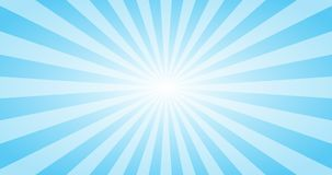 Abstract Blue Sun rays vector background. Summer sunny 4K design. Abstract Blue Sun rays vector background. Summer sunny design. 4K format royalty free illustration