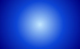 Abstract Blue Sunburst Stock Image