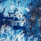 Abstract Blue surface background. Rust Grunge background with s Stock Photo