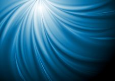 Abstract blue swirl wave background Stock Photography