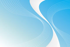 Abstract Blue Swirls Stock Photography