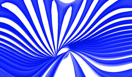Abstract blue swirls lines background. Wallpaper with white background Royalty Free Stock Images