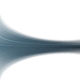 Abstract blue swoosh rapid wave folder Royalty Free Stock Image