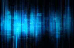 Abstract blue tech background. Abstract dark blue tech background stock illustration