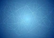 Abstract blue tech background Royalty Free Stock Photos