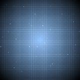 Abstract blue tech background Stock Photos