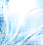Abstract blue techno background Stock Images
