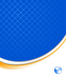 Abstract blue technological background Royalty Free Stock Photography