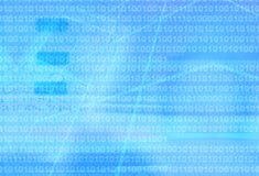 Abstract blue technology Stock Image