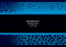 Abstract blue technology background Royalty Free Stock Photo