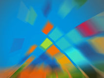 Abstract blue technology background Royalty Free Stock Photos