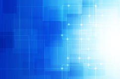Abstract blue technology background. Abstract blue tech background stock illustration