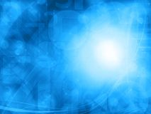 Abstract blue technology background Stock Image