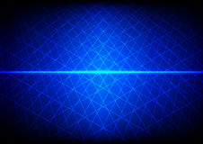 Abstract Blue technology grid background. illustration  de Royalty Free Stock Image