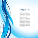 Abstract blue template Stock Photo