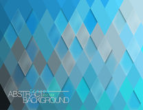 Abstract blue tile surface scene vector. Design wallpaper background Royalty Free Stock Image