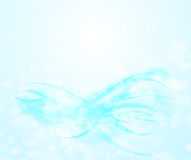 Abstract blue transparent background Stock Photos